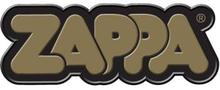 Frank Zappa: Fridge Magnet/Gold 3D Bubble Logo