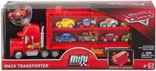 Disney Cars 3 Mini Racers Mack Transporter + McQueen