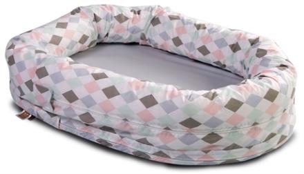 NG Baby Sovpöl Harlequin rosa