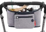 Skip hop Stroller Organizer Väska, grå
