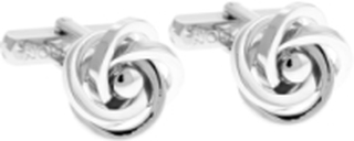 Thompson Knot Cufflinks Mansjettknapper Sølv THOMPSON