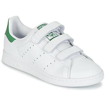 adidas Sneakers STAN SMITH CF J adidas - Spartoo