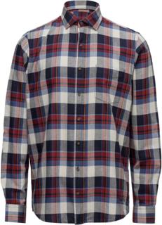 L/S Shirts Skjorte Casual Multi/mønstret Signal