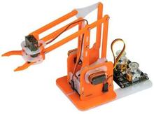 MeArm Robot Arduino Compatible Kit - Orange Kitronik