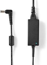 Nedis Adapter för bärbar dator 39 W | 6.5 x 4.4 mm centreringsstift | 19.5 V/2 A | Används till SONY | Nätkabel ingår