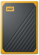 WD My Passport GO SSD 1TB Svart/Brandgul