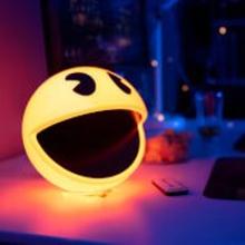 Pac-Man Chip Lampe mit Ton