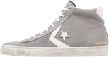 Converse PRO LEATHER VULC MID SUEDE DISTRESSED Hög