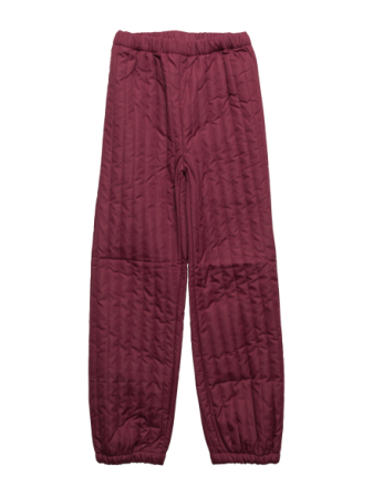 Thermal Quilt Pants -Solid