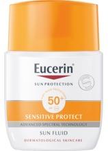 Eucerin Sensitive Protect Sun Fluid Spf-50+ Oparfymerad 50 ml