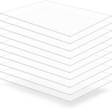 vidaXL Plexiglasskivor 10 st 60x80 cm 4 mm