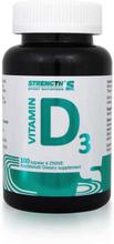 Strength Sport Nutrition Vitamin D3, 100 kapslar, Strength Vitaminer & Mineraler