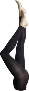 Ladies Den Leggings, Opaque Leggings 3d 80den Leggings Svart VOGUE