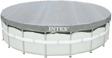 Intex Bassengtrekk Deluxe rund 488 cm 28040
