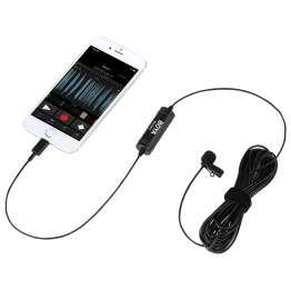 BOYA Clip on mikrofon til iPhone & iPad MFi
