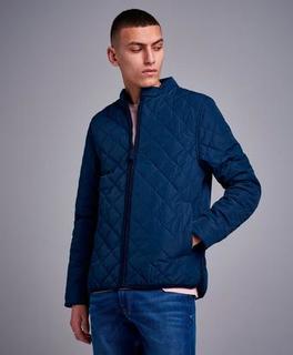 Studio Total Jakke Quilted Jacket Blå