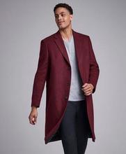 Studio Total Rock Fenton Wool Coat Röd