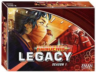 Pandemic Legacy Red Season 1 - Brädspel
