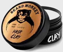 Beard Monkey Hair Clay Grå