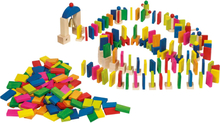 Domino rally i trä (247 delar)