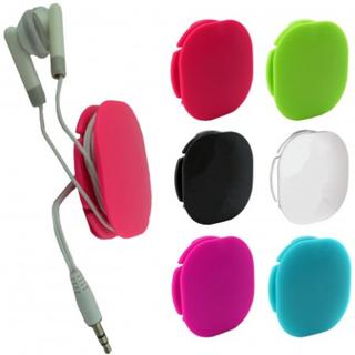 3-Pack Kabelhållare Kabelsamlare Till Hörlurar Kablar Sladdar Organisera
