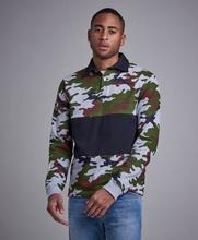 Studio Total Pikétröja Owen Rugby Sweater Grön