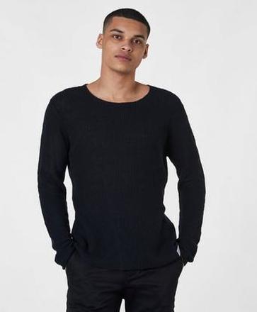 Adrian Hammond Stickad tröja Rocca Knit Svart