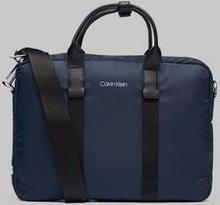 Calvin Klein Braced Laptop Bag Blå