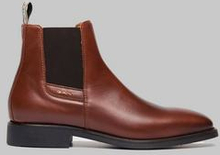 Gant Boots James Leather Brun