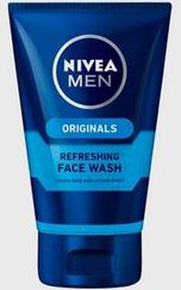 Nivea Refreshing Face Wash Gel 100ml Grå