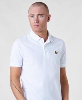 Lyle & Scott Pikétrøye Plain Polo Shirt Hvit