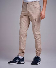 William Baxter Cargobyxor Cargo Trousers Beige