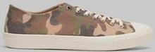 Sneaky Steve Sneakers Swing Low Canvas Camo Grön