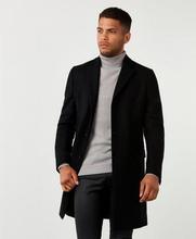Studio Total Rock Lambton Wool Coat Svart