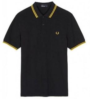 FRED PERRY SlimFit Twin Tipped Shirt (XXXL)