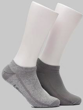 Levi's Strumpor 168SF Low Cut 2-pack Socks Grå