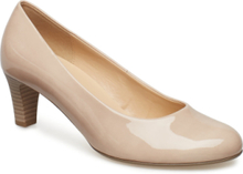 Pumps Shoes Heels Bridal Classic Beige Gabor