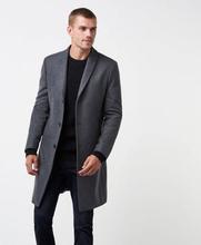 William Baxter Rock Dean Wool Coat Grå