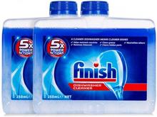 Finish Astianpesukoneen puhdistusaine Twin Pack 2 x 250 ml