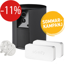 SOMFY One Hemlarm + 2 st IntelliTAG + 2 st Key Fob