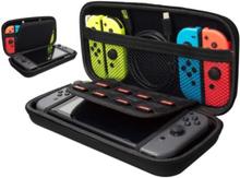 Opbevaringskasse, taske til Nintendo Switch, sort