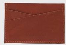 P.A.P Plånbok Aho Slim Card Wallet Brun