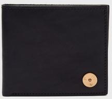 P.A.P Plånbok Albin Classical Wallet Leather Svart