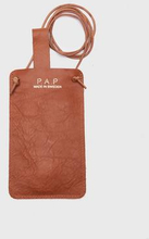 P.A.P Klippan iPhone X Cover Leather Brun