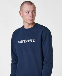 Carhartt WIP Carhartt WIP Sweatshirt Blå