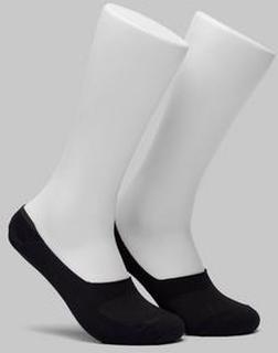 Studio Total 2-pk sokker fra Studio Total. Hvite sokker i lav modell med myk kvalitet. På innsiden av hælen er det en silikonkant som holder sokkene på plass. 40° maskinvask Svart