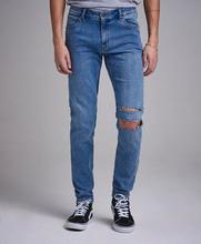 Cheap Monday Jeans Him Spray Sarcred Blå