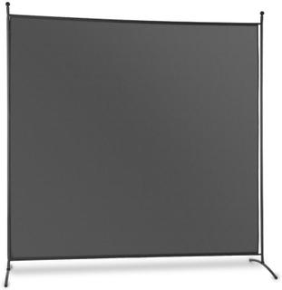 Brindisi vikvägg insynsskydd 1,8x1,8m polyester 180g/m² stål