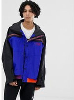The North Face 92 Rage Retro rain jacket in aztec blue - Aztec blue rage comb