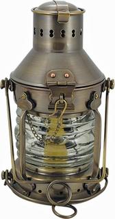 Ankerlampe - antik messing 24 cm